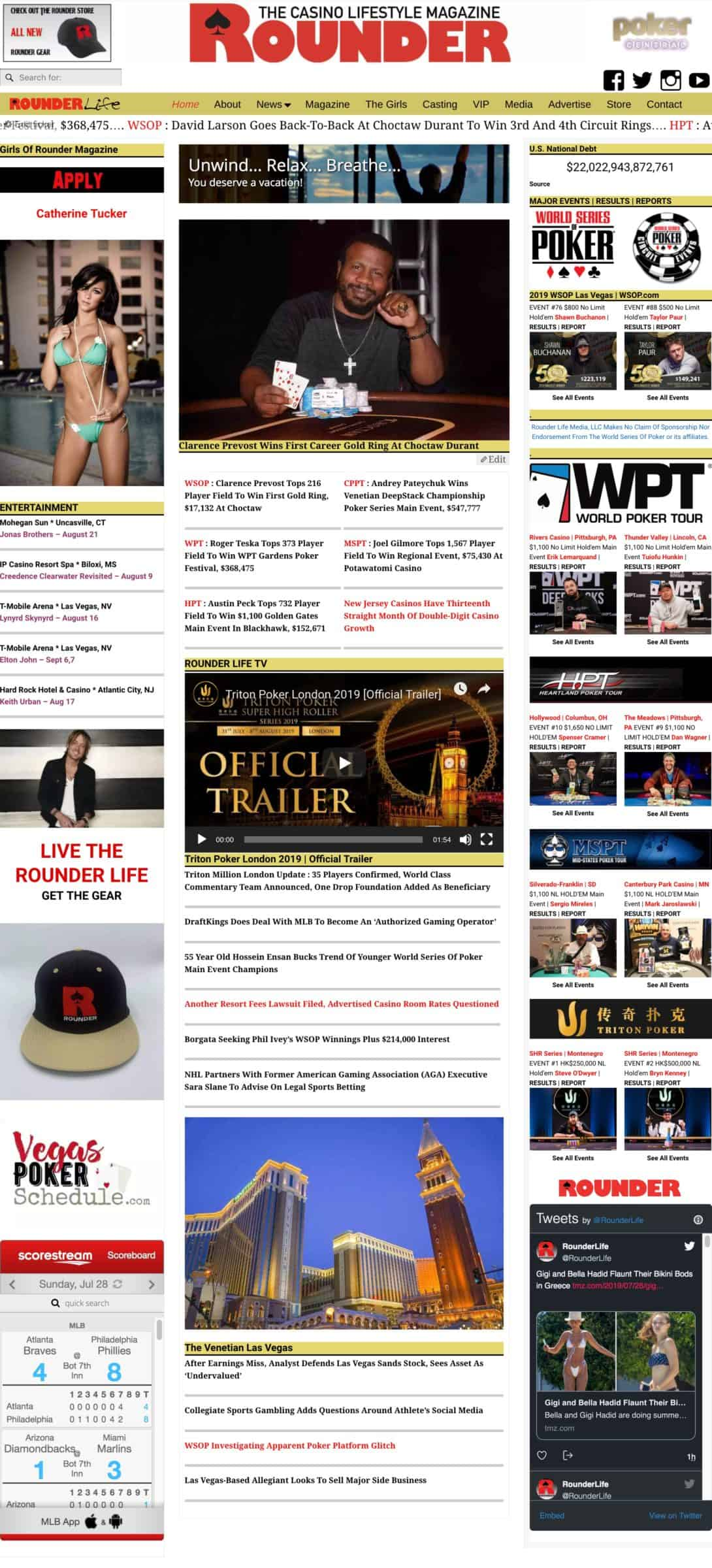 July 27 2019 Headlines Clarence Prevost Wins First Career Gold